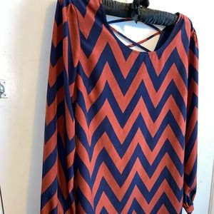 Charming Charlie's Chevron Dress